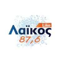 Logo of radio station Laikos 87,6 fm - Λαϊκό 87,6