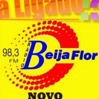 Logo of radio station Beija Flor FM 98,3