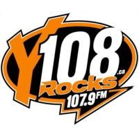 Logo de la radio Y108 Rocks CJXY