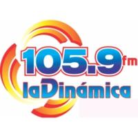Logo de la radio XHCOV La Dinámica 105.9
