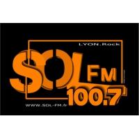 Logo of radio station Sol FM