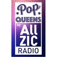 Logo of radio station Allzic Radio POP QUEENS
