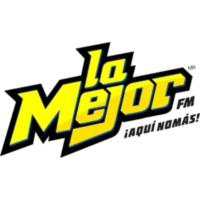 Logo of radio station La Mejor 105.3