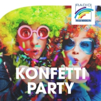 Logo of radio station Radio Regenbogen Konfetti-Party