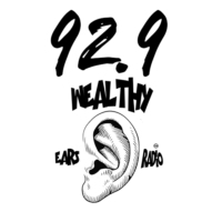 Logo of radio station 92.9 Wears Wealthy Ears Radio