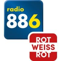 Logo de la radio radio 88.6 - ROT-WEISS-ROT
