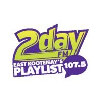 Logo de la radio CFSM 107.5 2day FM