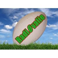 Logo of radio station RadiOvalie, la radio 100% rugby !