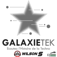 Logo of radio station GalaxieTek