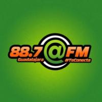 Logo de la radio XHGDL @ FM  88.7