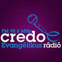 Logo of radio station Credo Rádió