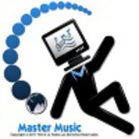 Logo of radio station Master Music Col