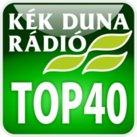 Logo of radio station KÉK DUNA - Top40