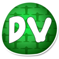 Logo of radio station Doble V