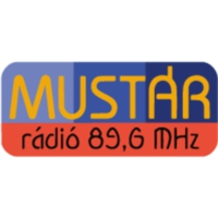 Logo of radio station Mustár FM