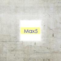 Logo of radio station Max5