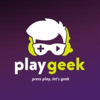 Logo of radio station PlayGeek