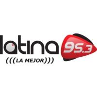 Logo de la radio Latina FM 95.3