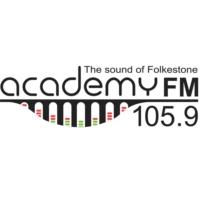 Logo de la radio 105.9 Academy FM Folkestone