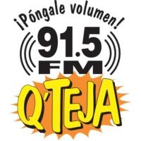 Logo de la radio QTeja 91.5FM