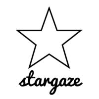 Logo de la radio Stargaze Radio