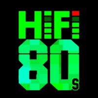 Logo of radio station HiFi 80s
