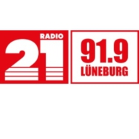 Logo of radio station RADIO 21 - Lüneburg