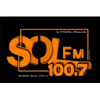 Logo of radio station Sol FM