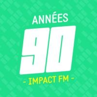 Logo de la radio Impact FM - Années 90