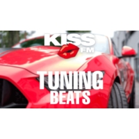 Logo of radio station KISS FM - TUNING BEATS