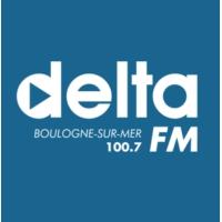 Logo de la radio Delta FM Boulogne sur mer