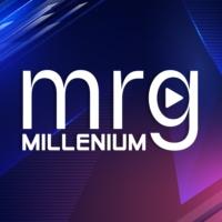 Logo of radio station MRG Millenium