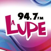 Logo of radio station XHPENS La Lupe 94.7 FM