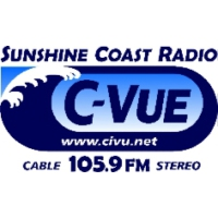 Logo of radio station C-VUE FM