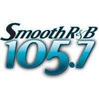 Logo of radio station KRNB Smooth R&B 105.7