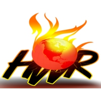 Logo of radio station Hot World Radio
