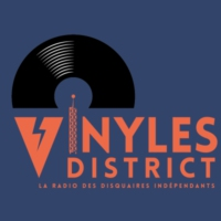 Logo of radio station Vinyles District