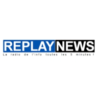 Logo de la radio Replay News