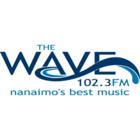 Logo of radio station CKWV-FM The wave 102.3