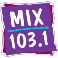 Logo of radio station KMXS 103.1