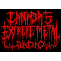 Logo of radio station Canada's Extreme Metal Radio