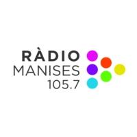 Logo of radio station Ràdio Manises 105.7