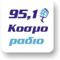 Logo of radio station Kosmorádio 95,1 - Κοσμοράδιο 95,1