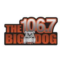 Logo of radio station WKRU 106.7 The Big Dog
