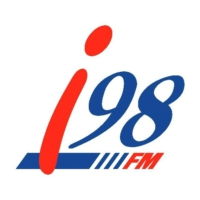 Logo of radio station i98 FM