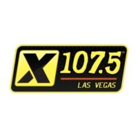 Logo of radio station KXTE X 107.5 FM