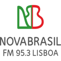 Logo of radio station NovaBrasil FM Portugal