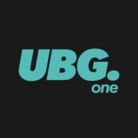 Logo of radio station UBG. One