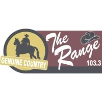 Logo de la radio KRAN 103.3. The Range
