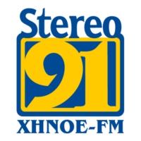 Logo of radio station XHNOE Stereo 91.3